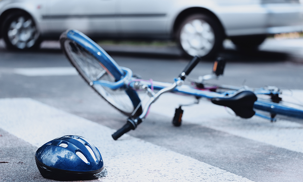 miles-driven-monthly-decrease-injury-increase-bike-car-accident-personal-injury